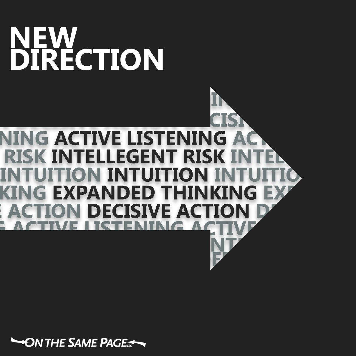 Change Communication - New Direction